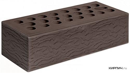 Кирпич евро размер шоколад рустик М-150 Керма