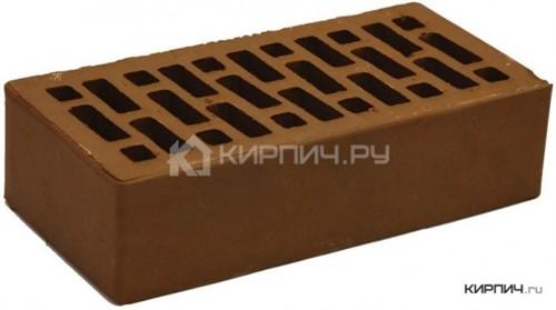 Кирпич НЗКМ шоколад одинарный гладкий М-150
