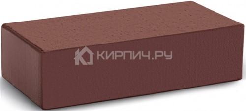 Кирпич М-300 шоколад одинарный гладкий полнотелый КС-Керамик