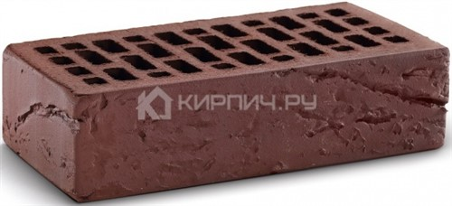 Кирпич  М-150 шоколад одинарный кора дерева КС-Керамик