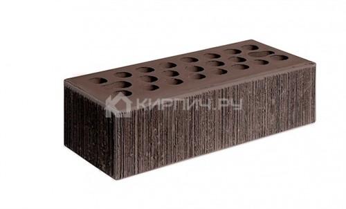 Кирпич для фасада шоколад полуторный бархат М-150 Керма