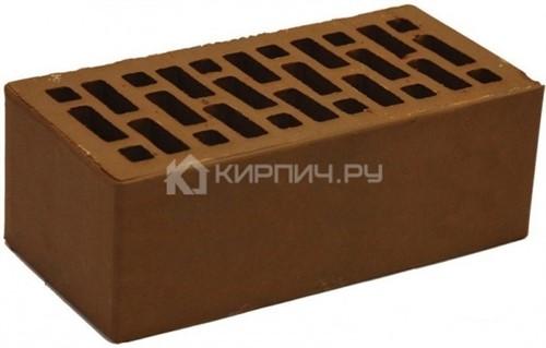 Кирпич для фасада шоколад полуторный гладкий М-150 НЗКМ