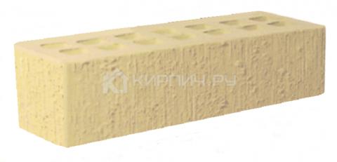 Кирпич для фасада слоновая кость евро бархат М-175 ЖКЗ