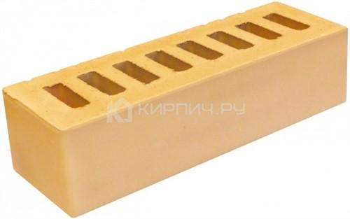 Купить Кирпич евро размер слоновая кость гладкий М-150 БКЗ дешевле