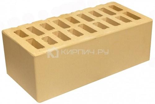 Кирпич для фасада слоновая кость полуторный гладкий М-150 УС БКЗ