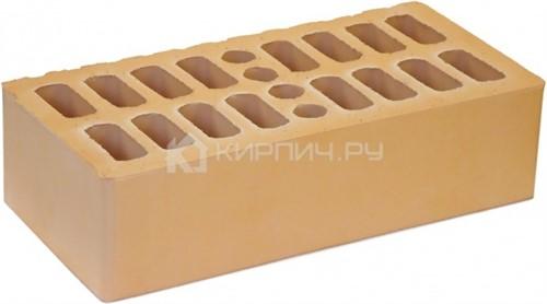 Кирпич для фасада солома одинарный гладкий М-150 Кострома