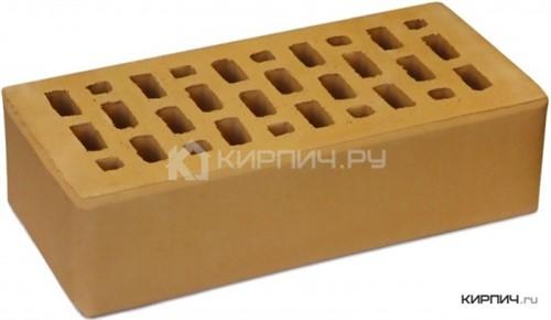 Кирпич для фасада солома одинарный гладкий М-150 Терекс Цех 1