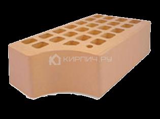 Кирпич для фасада солома одинарный КФ-1 гладкий М-175 ЖКЗ
