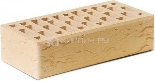 Кирпич для фасада солома одинарный риф М-150 Ростов