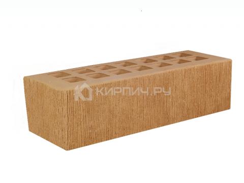 Купить Кирпич для фасада солома полуторный бархат М-150 СтОскол дешевле