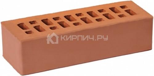 Кирпич облицовочный светло-коричневый евро гладкий М-175 ГКЗ