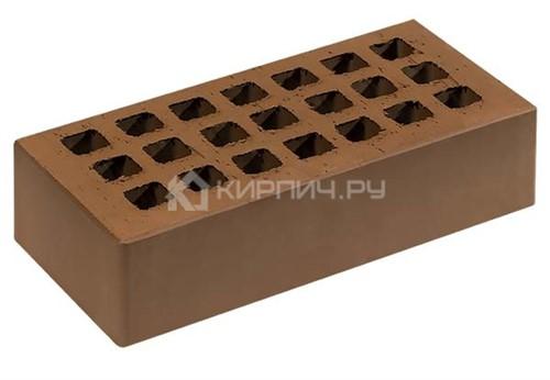 Кирпич СЗЛК (Саранск) светло-коричневый одинарный гладкий М-150