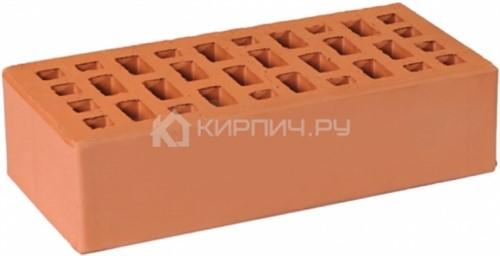 Кирпич для фасада светло-коричневый одинарный гладкий М-175 ГКЗ