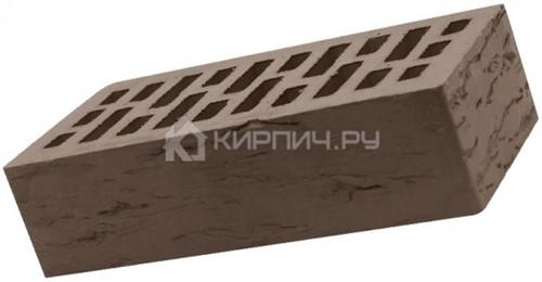 Кирпич одинарный темный шоколад гладкий М-150 Кострома
