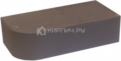 Кирпич облицовочный темный шоколад гладкий полнотелый R60 М-300 КС-Керамик