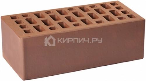 Кирпич темно-коричневый полуторный гладкий М-175 ГКЗ