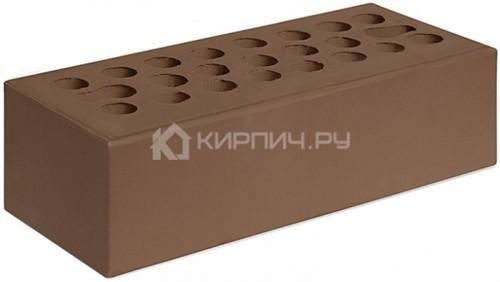 Кирпич для фасада терракот евро гладкий М-150 Керма