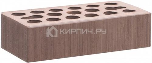Кирпич для фасада терракот одинарный бархат М-150 Керма
