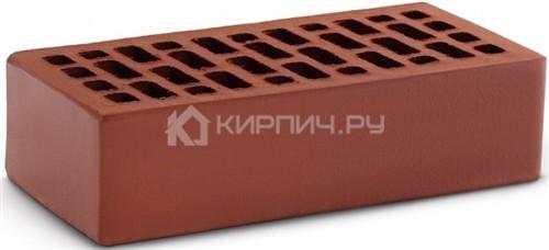 Кирпич для фасада терракот одинарный гладкий М-150 КС-Керамик