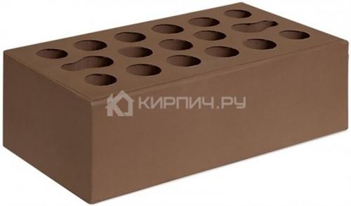 Кирпич Керма терракот полуторный гладкий М-150
