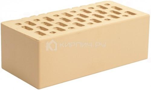 Кирпич для фасада ваниль полуторный гладкий М-150 Магма