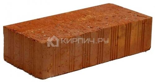 Кирпич строительный полнотелый одинарный М-125 рифленый Ломинцево