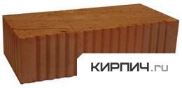 Кирпич строительный полнотелый одинарный М-125 рифленый Ржевкирпич