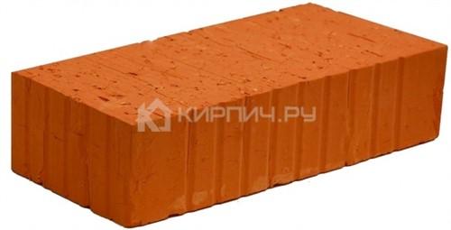 Кирпич строительный полнотелый одинарный М-125 рифленый Великолукский
