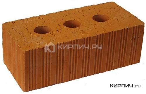 Кирпич строительный полнотелый полуторный М-150 рифленый Ломинцево