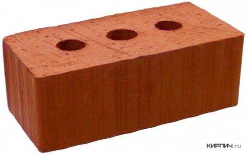 Кирпич строительный полнотелый с тех.пустотами полуторный М-150 рифленый Рузаевка