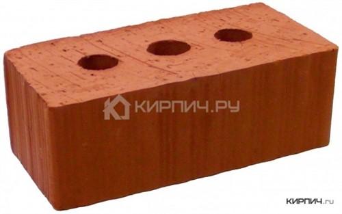 Кирпич строительный полнотелый с тех.пустотами полуторный М-175 рифленый Рузаевка