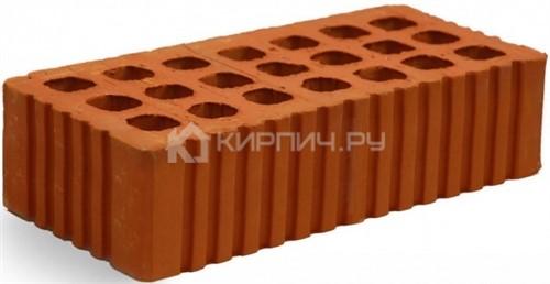 Кирпич строительный щелевой одинарный М-150 рифленый Михневская керамика