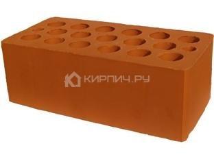 Кирпич строительный щелевой полуторный М-150 гладкий Каширский кирпич
