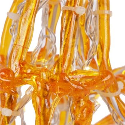 Гирлянда Олень оранжевый 120 ламп высота 60 см для улицы