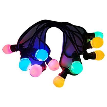 Гирлянда-шнур 10 шаров без блока питания 50 LED ламп цвет мультиколор цена