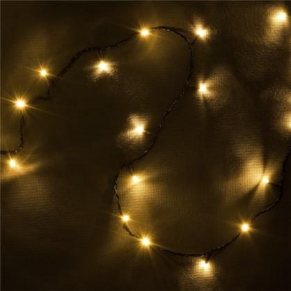 Светодиодная гирлянда Balance Нить для дома 300 ламп 23 м цвет тёплый белый цена
