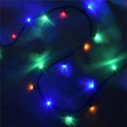 Светодиодная гирлянда Balance Нить для дома 50 ламп 5 м цвет мультиколор цена