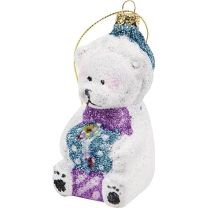 Украшение Елочное Christmas Мишка Ручная Работа цена